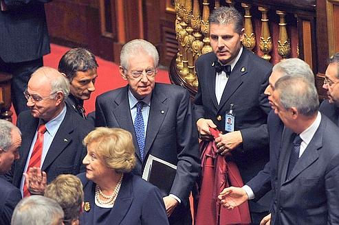 Mario Monti promet «rigueur, croissance et équité sociale»