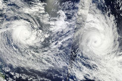De plus en plus d'événements climatiques extrêmes