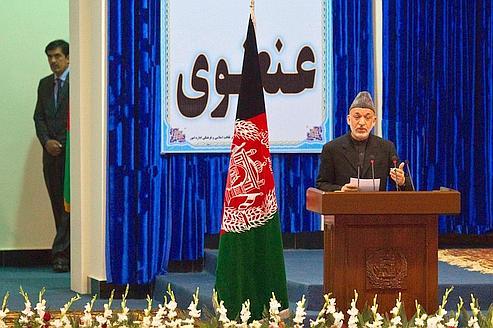 Karzaï veut que les États-Unis restent en Afghanistan