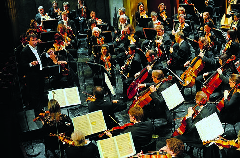 L'orchestre national de France. (Radio France/Christophe Abramowitz)