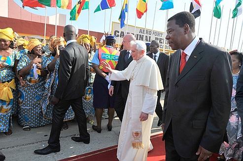 Le Pape convie l'Afrique à entrer dans la modernité