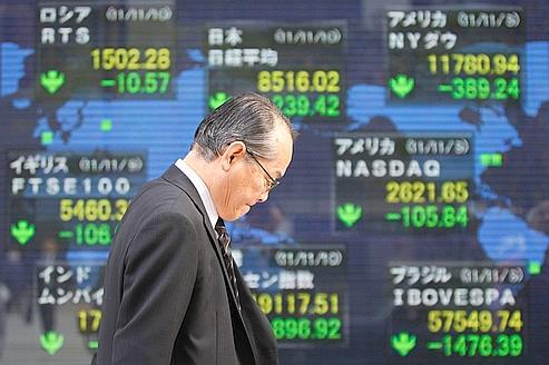 L'Asie boursière préoccupée par l'Europe