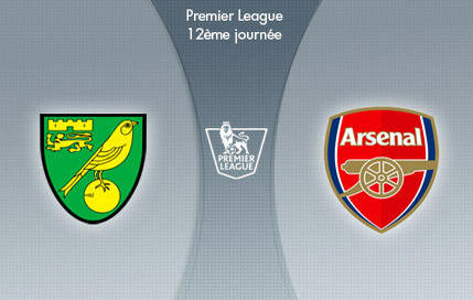 Norwich-Arsenal EN DIRECT