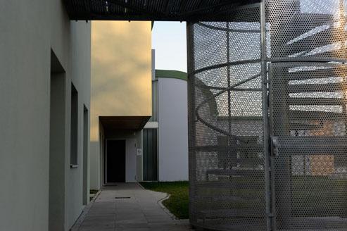 Vue extérieure du centre éducatif fermé (CEF) pour mineurs de Mulhouse. Crédits photo : AFP