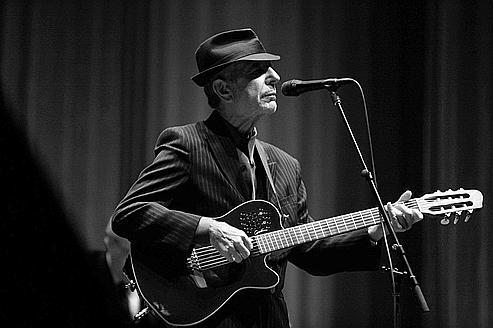 Leonard Cohen sort un nouveau disque