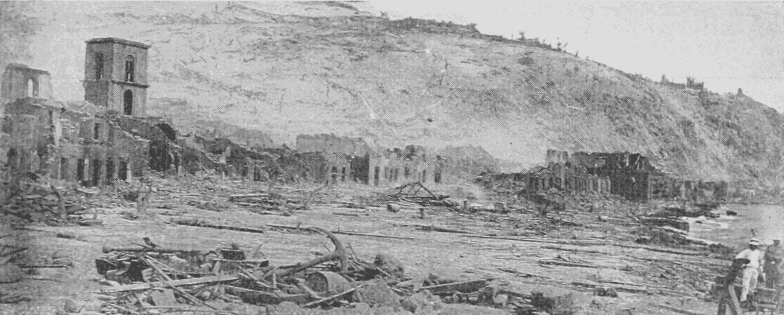1902, la catastrophe de la Martinique
