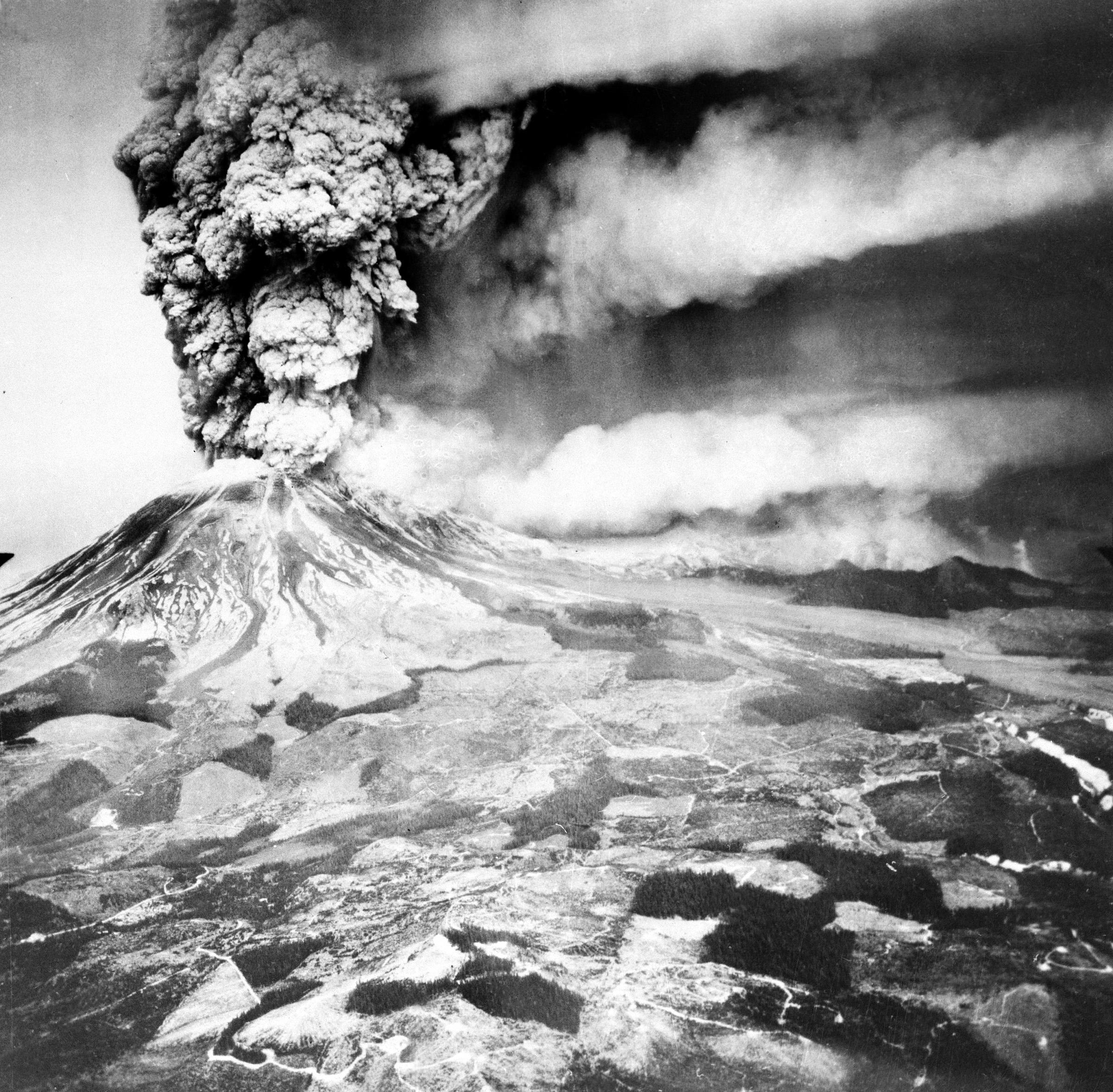 1980, St Helens une éruption sans précédent…