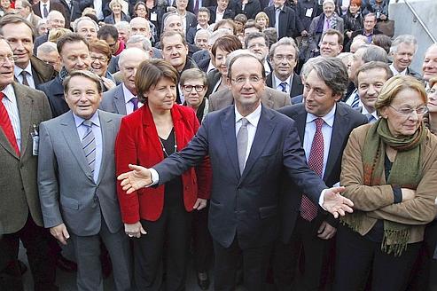 Les candidats de gauche se font les dents sur Hollande