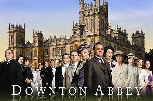 La série Downton Abbey en France le 10 décembre