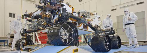 Le robot Curiosity embarque deux instruments français