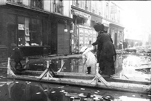 1910, grande crue à Paris, des éclaircissements