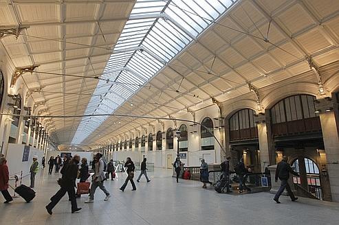 La gare Saint-Lazare dévoile peu à peu son nouveau visage