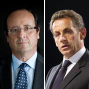 Hollande et Sarkozy creusent l'écart