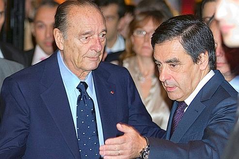 François Fillon loue Jacques Chirac, «l'avocat des oubliés»