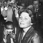 Svetlana à son arrivée à New York en 1967.