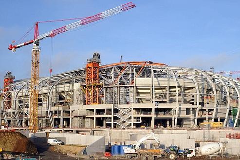 À Lille, Eiffage va livrer le nouveau stade en août 2012