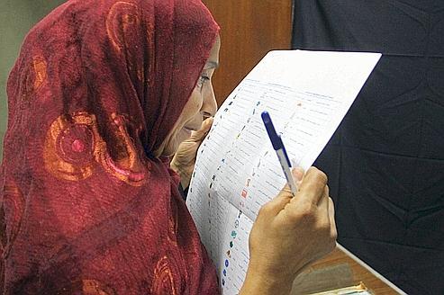 Soupçons de fraude sur le vote égyptien
