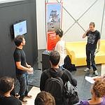 Les game-designers à l'Agora d'Evry (DR)