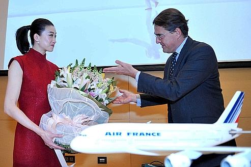 Air France accélère en Chine