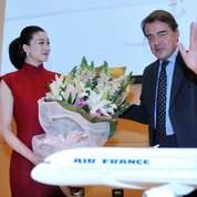 Air France s'entoure de célébrités