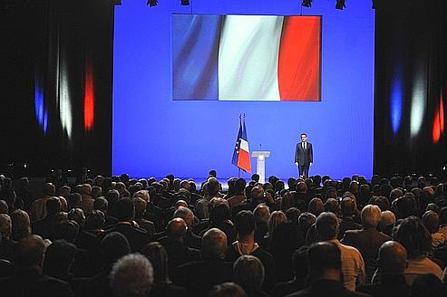 Sarkozy, l'Europe au cœur de la campagne