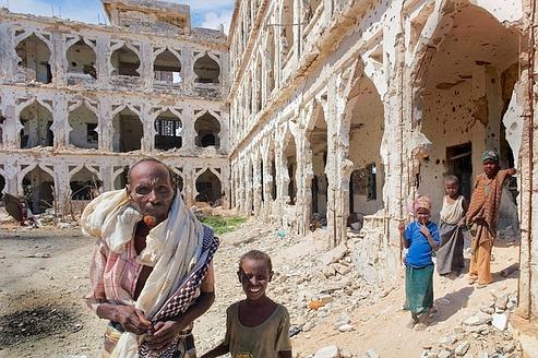 Mogadiscio, le chaos et les ruines