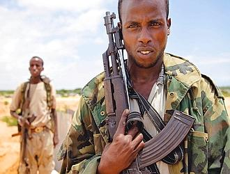 Luttant quartier par quartier, maison par maison, les troupes de l'Amisom (Force d'interposition de l'Union africaine) et du gouvernement fédéral de transition somalien ont finalement chassé les islamistes de Mogadiscio. (Noël Quidu/Le Figaro Magazine)