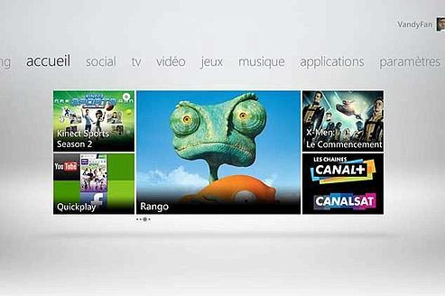 La Xbox 360 comprend le français grâce à Kinect