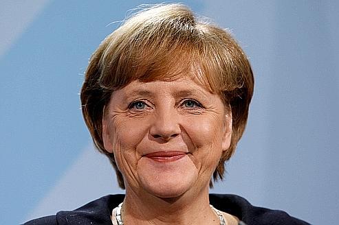 Les cadres votent Angela Merkel