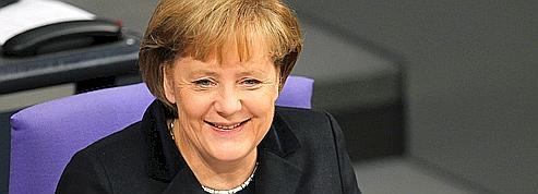 Forte de son économie, l'Allemagne impose son droit