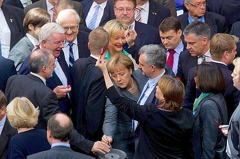 Merkel devra convaincre les «rebelles» dans son camp