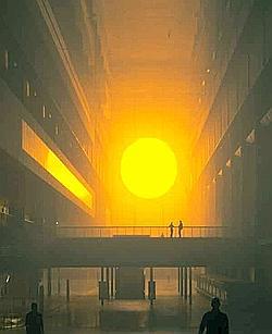 The Weather project. (Olafur Eliasson & Studio Olafur Eliaason)