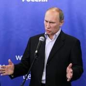 Le parti de Poutine garde la majorité