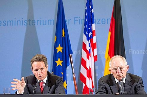 Tim Geithner veut pousser les Européens à l'action