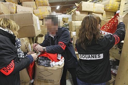 Forte augmentation de la contrefaçon à la veille de Noël