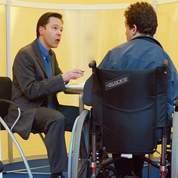 Les aides à l'emploi des handicapés rognées