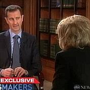 El-Assad : «On ne tue pas notre peuple»
