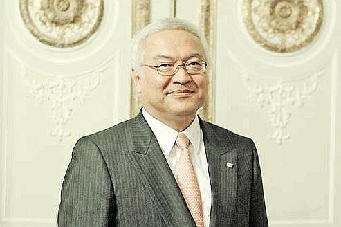 Norio Sasaki, PDG de Toshiba. (Crédits photo: Le Figaro)
