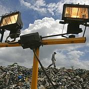 De l'électricité à partir de déchets ménagers