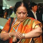 La ministre indienne de l'Environnement, Jayanthi Natarajan, samedi à Durban.