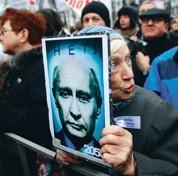 Poutine ébranlé par la contestation