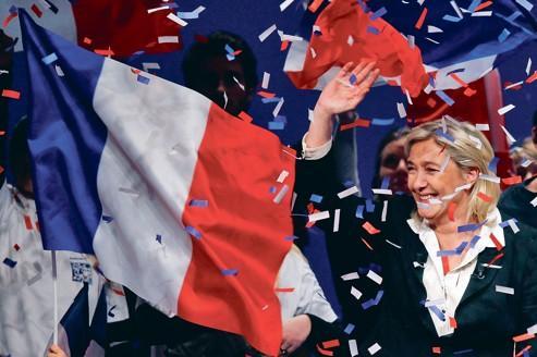 Le Pen, candidate «du retour au réel et des oubliés»