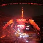 La scène à 360°d' U2.