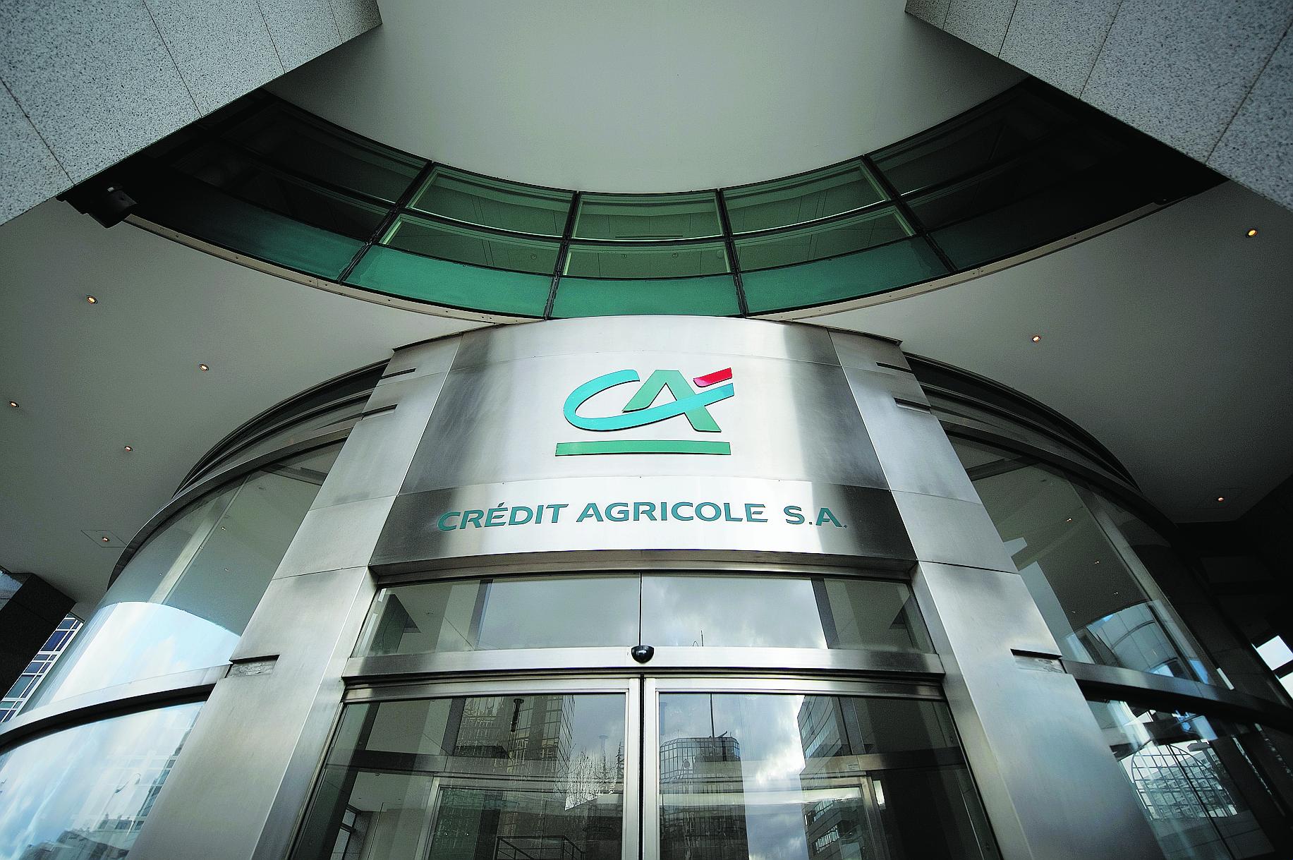 Crédit agricole SA dans le rouge cette année