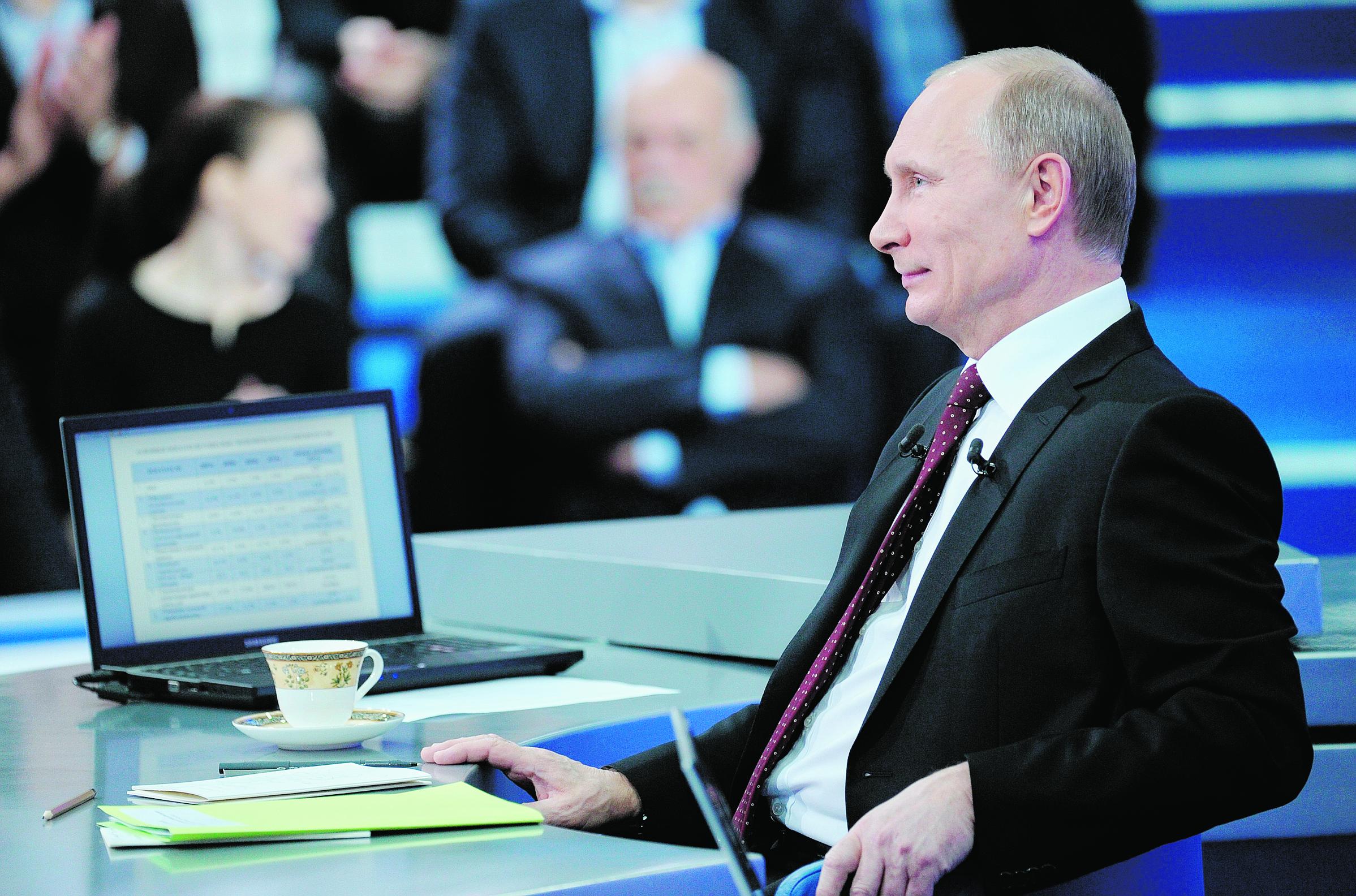 Poutine ne se reconnaît qu'un adversaire: lui-même