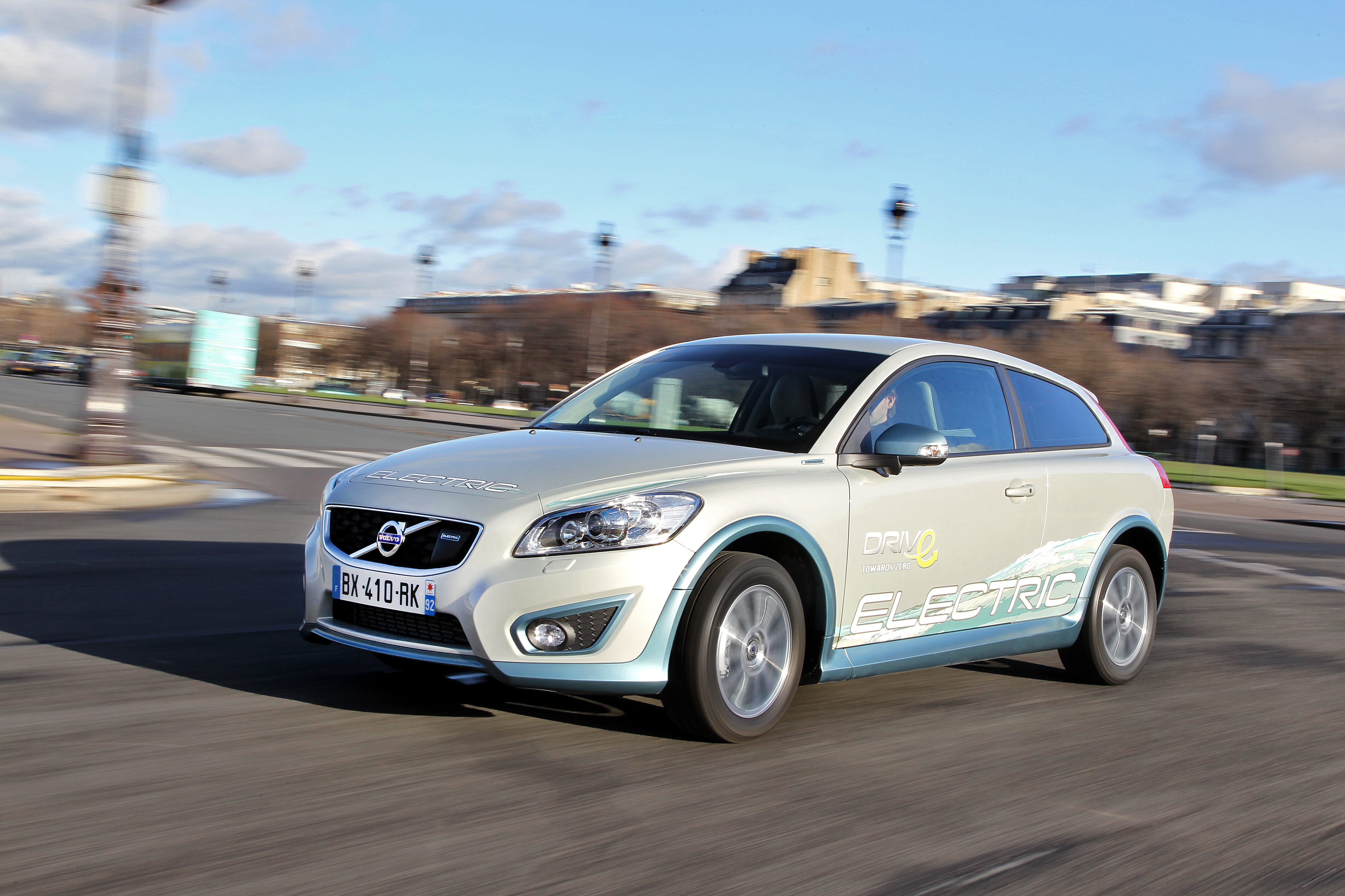 Volvo C30 électrique : un premier contact engageant