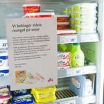 Les plaquettes de beurre arrivent au compte-gouttes dans les magasins norvégiens.
