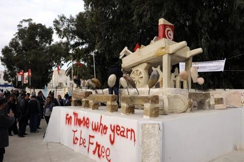 La Tunisie fête le premier anniversaire de la révolution