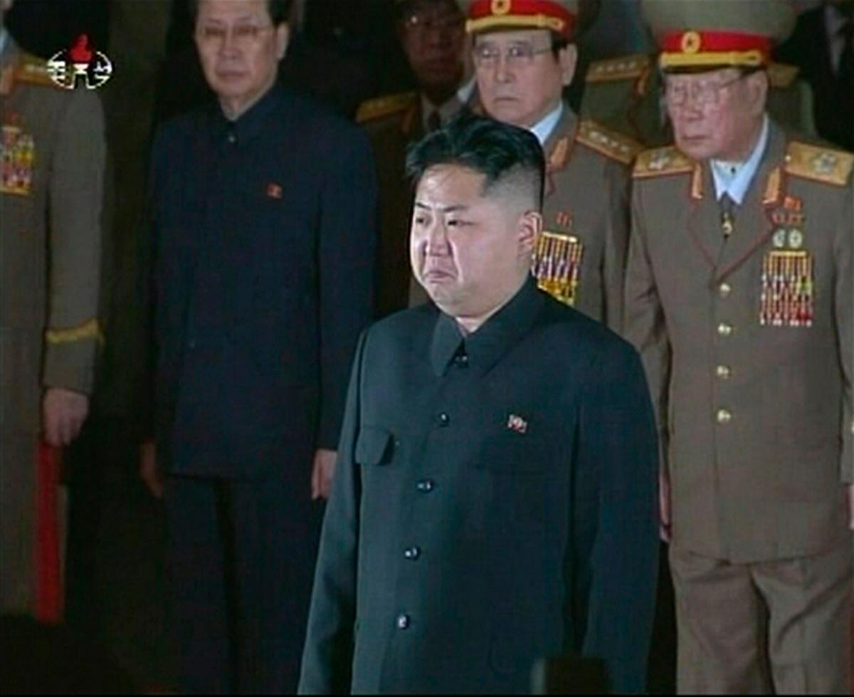 Capture d'images de la télévision nord-coréenne.