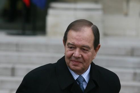 Patrick Ollier, le ministre des Relations avec le Parlement.